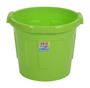 whatmore kids green plastic toy storage container tub wizz it in bin wham toys. Black Bedroom Furniture Sets. Home Design Ideas