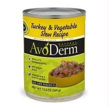 AvoDerm Adult & Puppy Dog Food Turkey & Vegetable Stew Recipe -- 12.5 oz