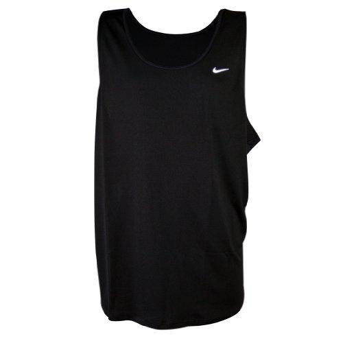 2b166691993799 Nike Men s Running Miler Singlet Team Dri-Fit Sleeveless T-Shirt 3XL Black  - Buy Online in UAE.