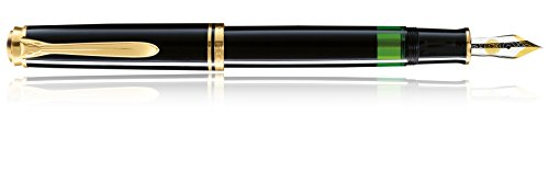 Pelikan Souveran 800 Black GT Medium Point Fountain Pen - ()