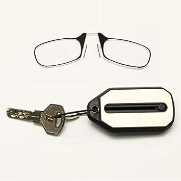 3a4bed7dc1b4 Amazon.com  Titanium Clip Thin Optics Reading Glasses