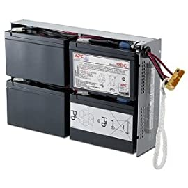 "APC UPS Battery Replacement for APC Smart-UPS models SMT1500RM2US, SMT1500R2-NMC, SU1400R2BX120, SU1400RM, SU1400RM2U, SU1400RMNET, SUA1500RM2U, SUA1500RMUS 14 BUY ONLY GENUINE APC PRODUCTS! For genuine APC by Schneider Electric Products from the manufacturer, buy only if the product says ""Ships from and sold by Amazon.com"" Genuine APC replacement battery cartridges (RBC) are tested and certified for compatibility to restore UPS performance to the original specifications Includes all required connectors, Battery recycling guide, Installation guide, Metallic battery tray or enclosure, Reusable packaging"