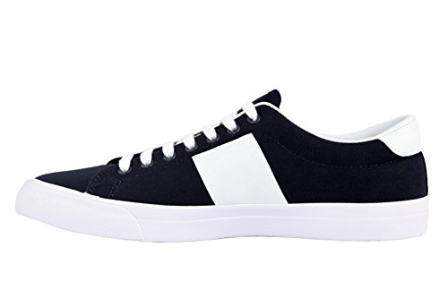 Fred Perry Heren Underspin Plastisol Twill Sneaker Marine