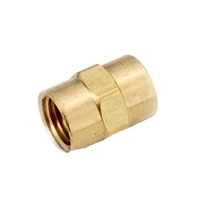 Anderson Metals Brass Pipe Fitting, Coupling, NPT Female