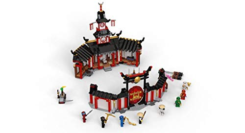 LEGO NINJAGO Legacy Monastery of Spinjitzu 70670 Battle Toy Building Kit includes Ninja Toy Weapons and Training Equipment for Creative Play (1,070 Pieces)