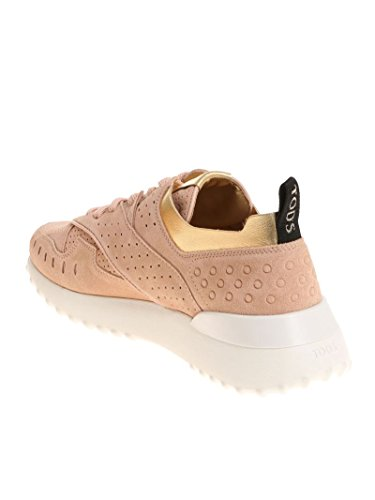 Tod's Camoscio Rosa Donna Sneakers XXW80A0W590IV50YZM pw70qvpr