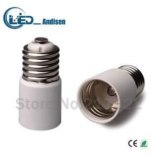 Halica E39 TO E39 adapter Conversion socket material fireproof material E12 socket adapter Lamp holder