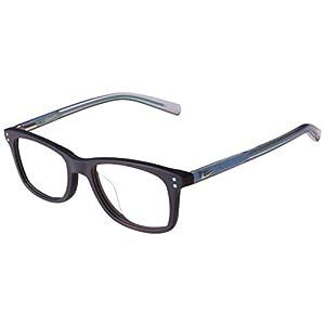 Nike Boy's Youth Eyeglasses 4KD 410 Matte Obsidian Optical Frame 48mm