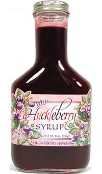 Wild Huckleberry Syrup, 12oz