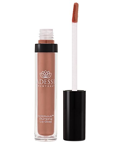 Adesse New York Voliptuous Plumping Lip Gloss, Luscious Balm like Ultra Hydrating Gloss With Sheer Color and High Shine, Plumps and Hydrates Lips, Vegan, Cruelty Free, Paraben Free – Cloud 9 3.0 FL OZ