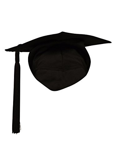 BULK BUY - 50 x Elasticated Mortarboard / Trencher Caps Any