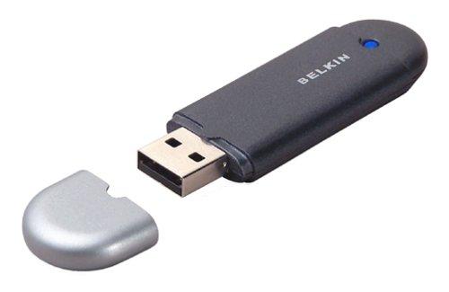 Belkin F8T001 Bluetooth/USB Adapter, Desktop