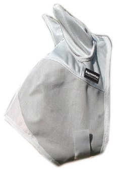 Equisential by Professionals Choice Equine Fly Mask with Ears Horse Gray)