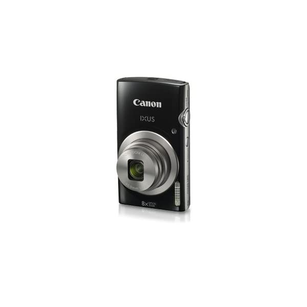RetinaPix Canon IXUS 185 20MP Digital Camera with 8x Optical Zoom (Black)