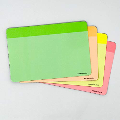 - Neon Dry Erase Whiteboard Magnets by AgilePacks | 4