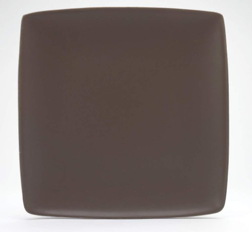 Noritake Colorwave Square Platter, 11-3/4-Inch, Chocolate