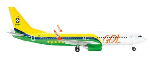 - Daron Herpa Gol 737-800 Brazil National Football ( Model Kit (1/500 Scale)