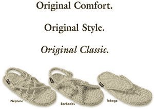 a9f8fb49c7ec Image Unavailable. Image not available for. Colour  Gurkees Rope Sandals  Mens - Barbados Style