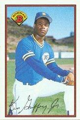 1989 Bowman Ken Griffey Jr. Rookie Baseball Card #220 - Mint Condition - Ship...