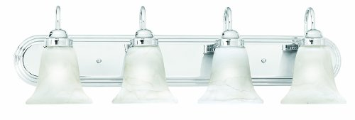 Thomas Lighting SL75844 Homestead Bath Light, Chrome