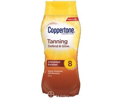 (Coppertone Tanning Lotion UVA/UVB SPF 15 - 8 oz)
