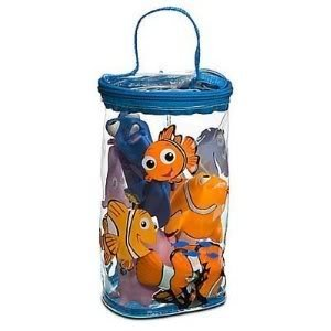 Disney Parks Finding Nemo Bath Buddies/Toys - Disney Parks Exclusive & Limited Availability ()
