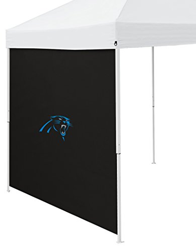 (Logo Brands NFL Carolina Panthers Side Panel, One Size,)