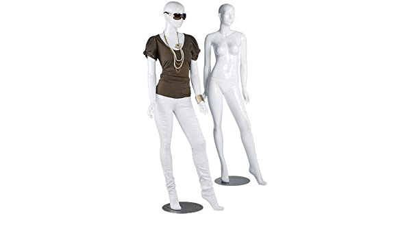"""Black Female Mannequin 36/"""" Bust; 26/"""" Waist; 33 /"""" Hips 5/'10/"""" Tall Full Body"""