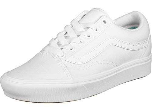 Old Comfycush The Calzado White classic Vans Skool wT7ZZq