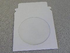 5'' 22 PT CARDBOARD CD & DVD MAILER W/WINDOW & SEAL JS91, 100PCS