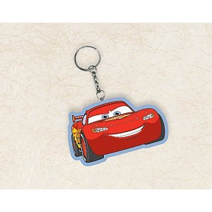 Disney Cars 2 Vinyl Key Chain (1 count) Party -