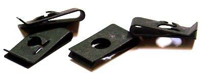 (8-32) C14783-832-4 Tinnerman-Style U-Type Nuts / Steel / Black Phos / 5,000 Pc. Carton by Fastener SuperStore