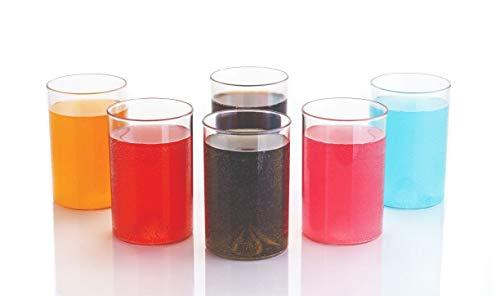Slings Unbreakable Plastic Glass Set of 6, Water Glass, Juice Glass, Tumbler 300ml (Zylis) (B081FCLFVR) Amazon Price History, Amazon Price Tracker