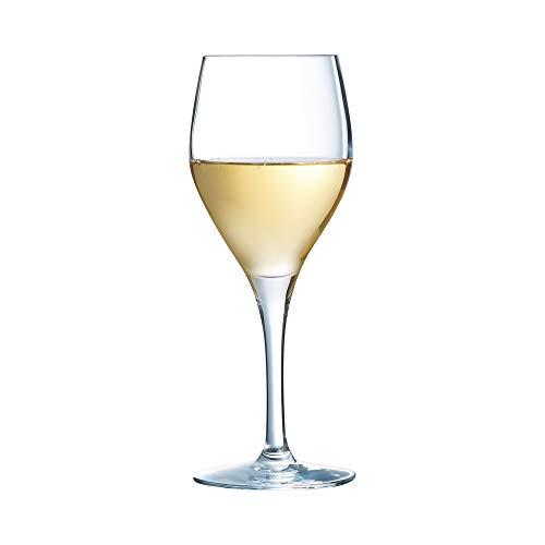 Sensation Exalt Wine Glasses 7oz / 200ml - Pack of 6 | 20cl Glasses, Kwarx Toughened Wine Glasses from Arcoroc Glassware ()