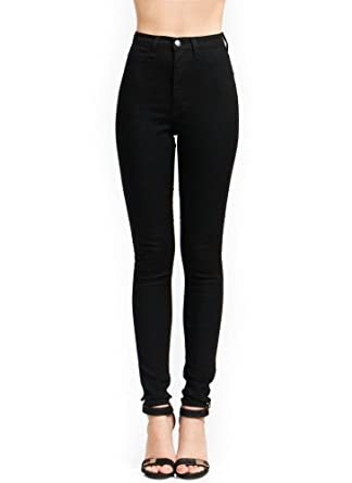 High-Waisted Skinny Jeans at Amazon Women&39s Jeans store