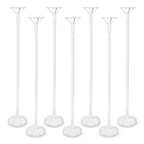 Flower Centerpieces For Baby Shower - 12PCS Balloon Stick Stand - Balloon