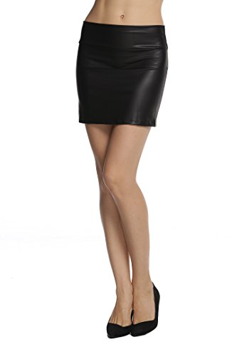 Mini Dress Leather Dress - 2