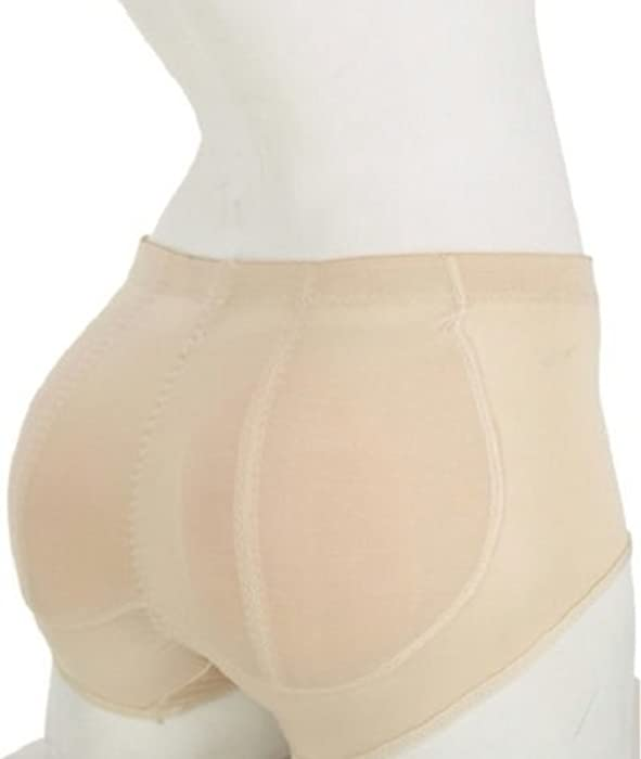 acdaea3e623 Amazon.com  Butt Pads Fake Butt Silicone Buttocks Shaper Panty with Smooth  Control Instant Lift and Shape S Nude  Clothing