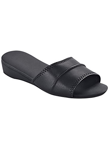 Dr Leonards Womens Slide Noir