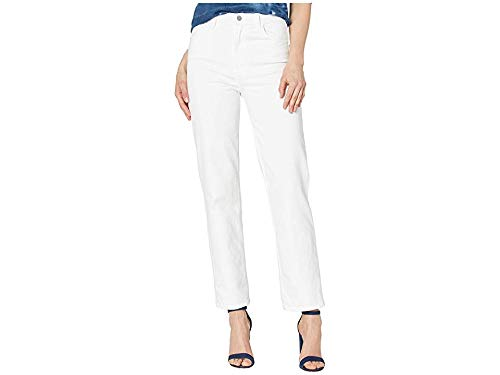J Brand Women's Jules High Rise Straight Jeans, White, 30 from J Brand Jeans