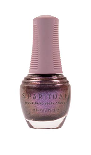 SPARITUAL Nourishing Vegan Nail Color | Red/Orange/Purple