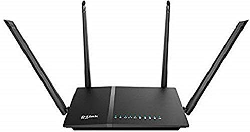 D-Link DIR-825 AC 1200 Wi-Fi Dual-Band Gigabit (LAN/WAN) Router (Not a Modem) 2021 June AC-1200 with 1.2Gbps of speed / 802.11a, 802.11b, 802.11g, 802.11n, 802.11AC WEP, WPA/WPA-2(Personal / Enterprise), WPS, Easy network management at your fingertips with D-Link Wi-F- APP. For Customer Complaints:Email:helpdesk@in.dlink.com Support No:+91-832-2856000 or 1860-233-3999