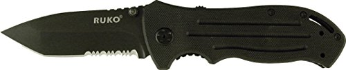 Ruko RUK0152SA Shark Lever Assisted Opening Knife CNC Machined G10 Handle, 7-7/8″ Review