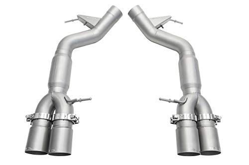 SOUL PERFORMANCE RESONATED MUFFLER BYPASS EXHAUST fits 2011-2016 BMW F10 M5 ()