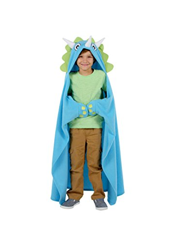 Allstar Innovations Snuggie Unicorn – Soft, Hooded, Blanket, Robe with Sleeves, As Seen on TV (Kids Dinosaur)