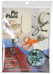 Spot Blue Feather Scissor Spot// Pin Place Magnetic Holder