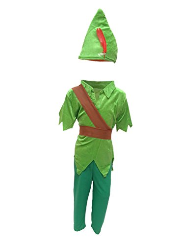 Peter Pan Fancy Dress for kids,Fairy Teles,Story book costume for Annual function/Theme Party -