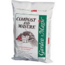 Michigan Peat 5240 Garden Magic Compost and Manure, 40-Pound Manure Compost