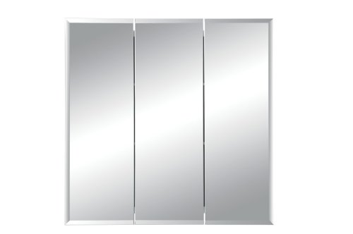 Jensen 255024 Horizon Frameless Medicine Oversize Cabinet, 21-3/4 by 20-3/8 by 3-1/2-Inch