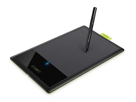 Wacom Bamboo Splash 2540líneas por Pulgada 147.32 x 91.44mm USB Negro, Verde Tableta digitalizadora - Tableta gráfica (Alámbrico, 147,32 x 91,44 mm, ...